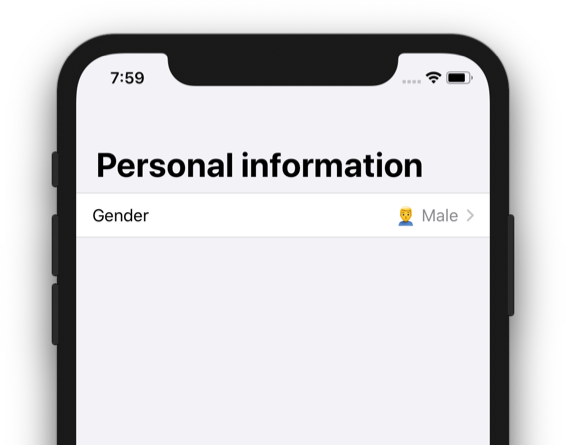 Create a form with SwiftUI